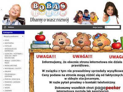 Bobas - Zabawki Wózki Foteliki Akcesoria