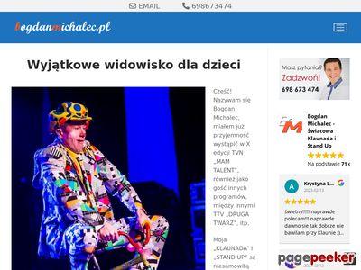 Klaun - bogdanmichalec.pl