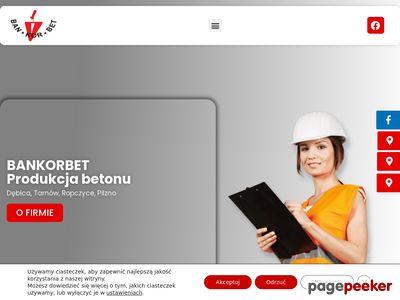 BAN-KOR-BET BANIA KORGA SP.J. beton drogowy tarnów