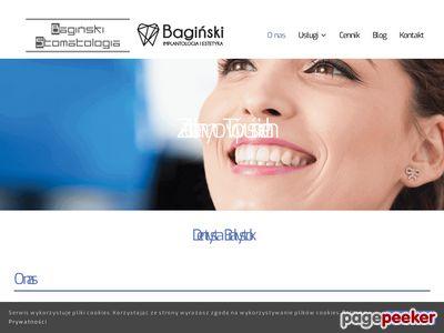 Usługi stomatologiczne -baginskistomatologia.pl