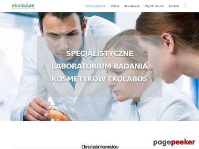 Laboratorium badania kosmetyków