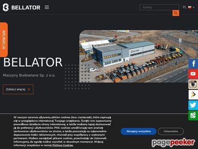 Bellator - części do maszyn budowlanych