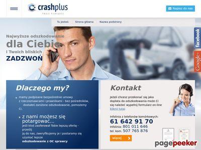 Crash Plus - zaniżone odszkodowanie