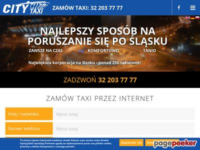City Taxi - taxi Pyrzowice Katowice