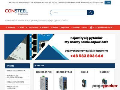 Automatyka przemysłowe CONSTEEL Electronics