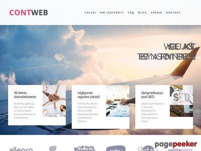 Copywriter - contweb.pl
