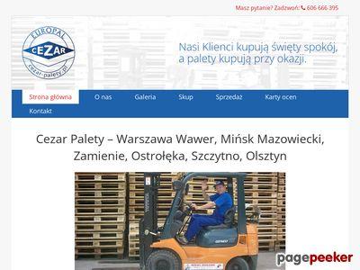 Palety Warszawa Wawer