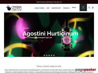 CentrumOLIWY.COM - oliwa z oliwek extravergine z Italii