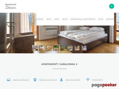 Zobacz Apartamenty Gubałówka 2