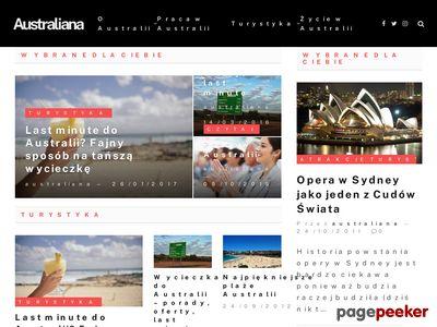 Australia - podróże i nauka