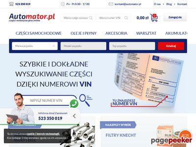 Tarcze hamulcowe - Automator.pl