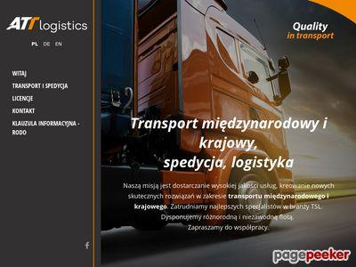 Usługi transportowe Szczecin