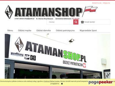 Ciemna Strefa - Atamanshop