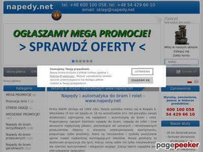 Awen.pl - napędy do bram BFT