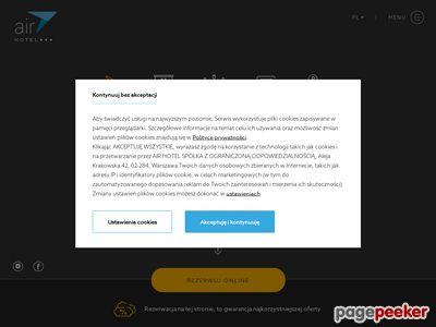 Air Hotel Warszawa (w pobliżu Lotniska Chopina)