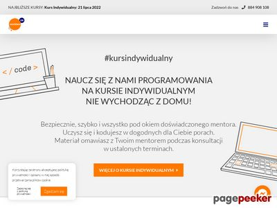 Szkoła programowania - akademia108.pl