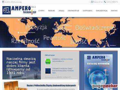 Pomiar temperatury - AMPERO