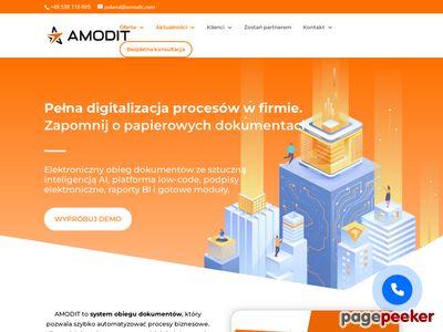 Wdrożenie obiegu dokumentów AMODIT