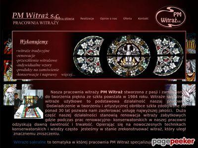 Konserwacja witraży | http://amberlamp.pl