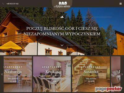 Istebna domki - Alpejska WIoska