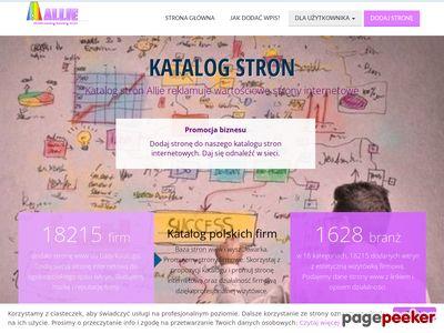 Allie katalog stron