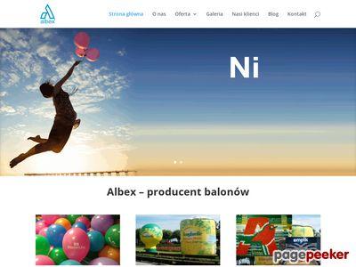 Smycze reklamowe - Albex