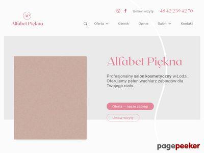 Alfabetpiekna.pl Salon kosmetyczny