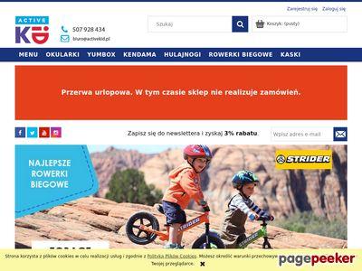 Sklep internetowy dla aktywnych dzieci