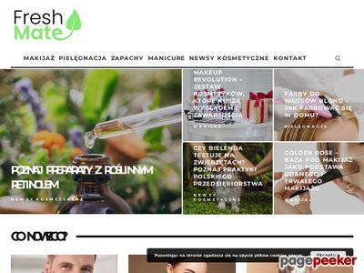 Internetowy sklep kosmetyczny - freshmate.pl
