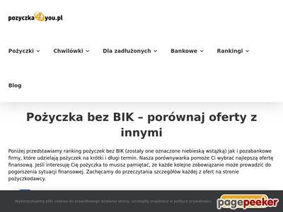 Pożyczki pozabankowe przez internet - Finrank.pl