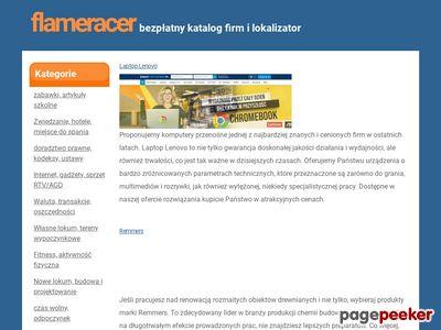 FlameRacer.pl - gra online w świecie wyścigów ulicznych