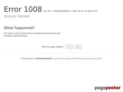 Portal wędkarski - forum.wedkuje.pl