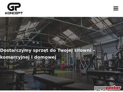GP Koncept - Wyposażenie siłowni