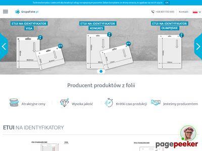 Etui na identyfikatory i produkty reklamowe