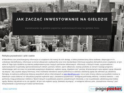 Inwestor Giełdowy. Jak zacząć?