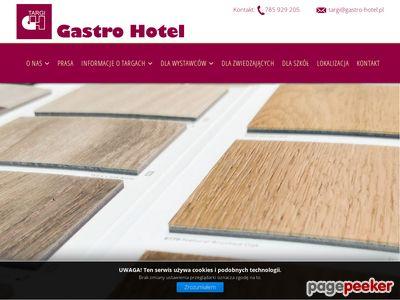 Gastro-Hotel - organizacja targów