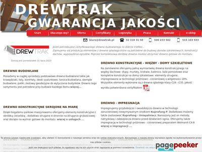 Tartak Sosnowiec - http://drewtrak.pl