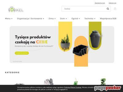 Sklep Dikel - skrzynki narzędziowe, kuwety magazynowe