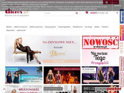 Sklep z bielizną Diores.pl