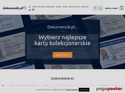 Dokumenciki.pl - dokumenty kolekcjonerskie