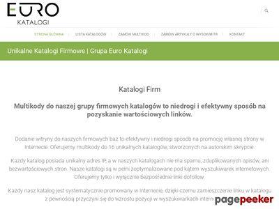 Grupa 16 katalogów firm | EuroKatalogi.pl