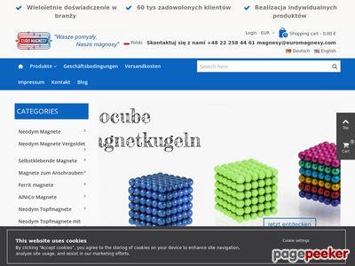 Magnesy ferrytowe przemysłowe - Producent Euro Magnesy
