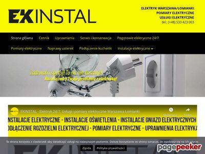 Elektryk Warszawa - Ekinstal