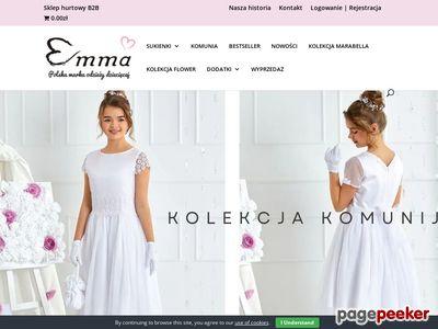 Eleganckie sukienki dla dziewczynek w doskonałych cenach