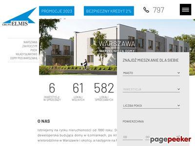Apartamenty Warszawa sprzedaż elmis-domy.pl