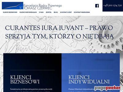 Obsługa prawna Warszawa Mokotów - tczerwiec.pl