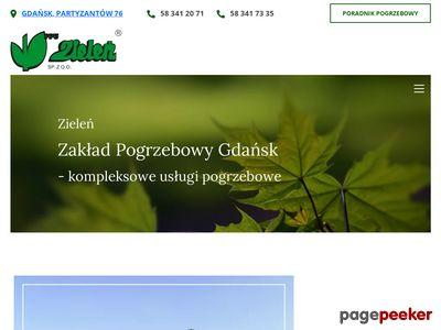 Zielen.pl - zakład pogrzebowy gdańsk