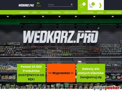 Internetowy sklep wędkarski