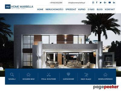 Marbella domy i apartamenty