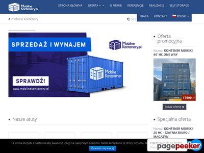 Kontenery produkcja sprzedaż wynajem - MobilneKontenery.pl